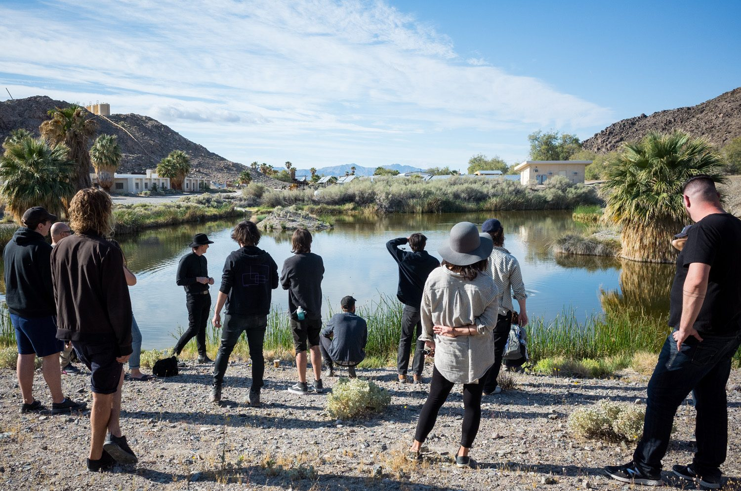 Desert Studies Center, Zzyzx, CA – Photo by Christopher Wormald